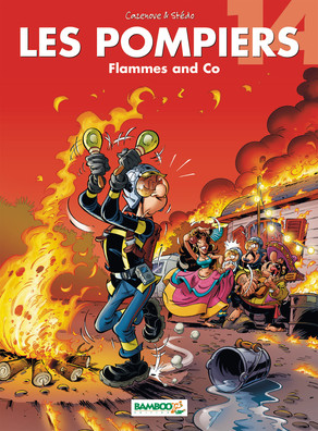 Les Pompiers - Tome 14 : Flammes and co